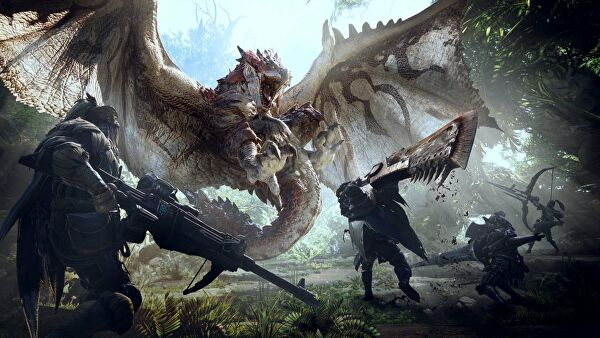 Un nuovo video di Monster Hunter World mostra la caccia al Nergigante