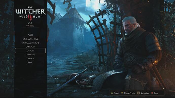 The Witcher 3 Xbox One X patch released, has two graphics modes