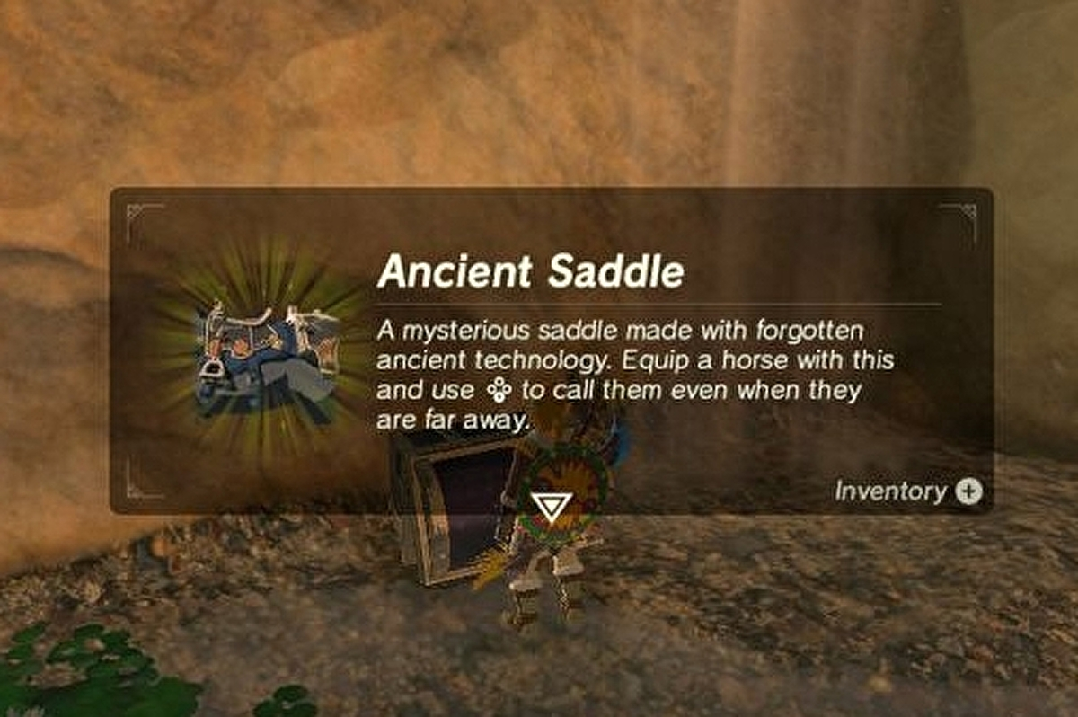 Zelda Ex Ancient Horse Rumors How To Get The Ancient Bridle And Ancient Saddle Eurogamer Net