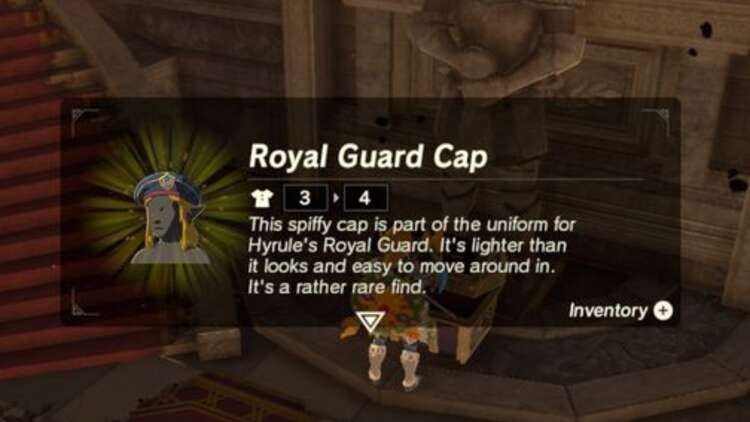 Zelda Ex Royal Guard Rumors Where To Find Royal Guard Uniform Royal Guard Boots And Royal Guard Cap Eurogamer Net