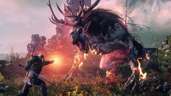 The Witcher 3 Xbox One X patch nu uit