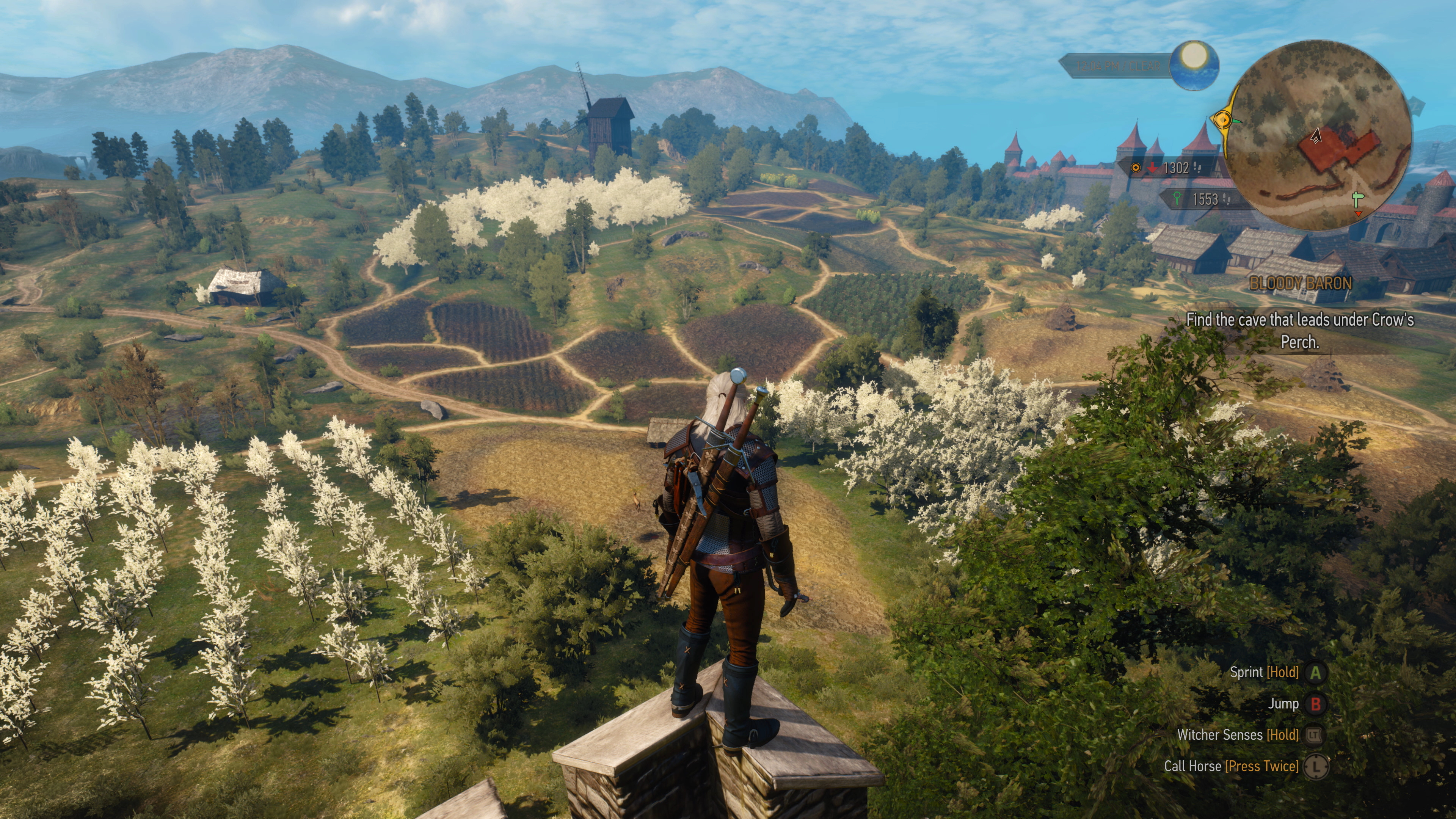 the witcher 3 s xbox one x patch delivers in spades eurogamer net