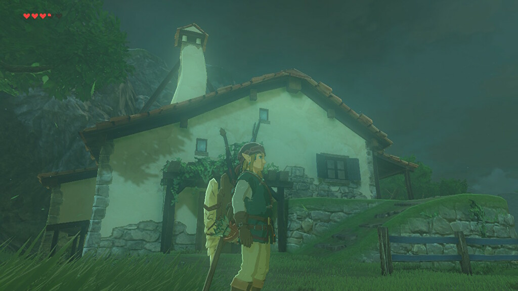 zelda breath of the wild how to buy a house and get