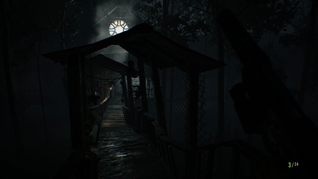 resident evil 7 how to get to old house