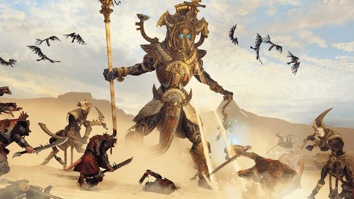 "Total War Warhammer 2: un nuovo video di gameplay per l'espansione ""Rise of the Tomb Kings"""
