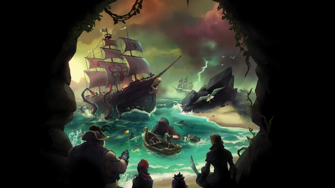 Sea of Thieves - Revelada a data para a beta fechada