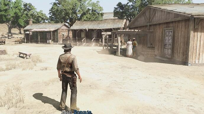 Fotky preview-verze Red Dead Redemption