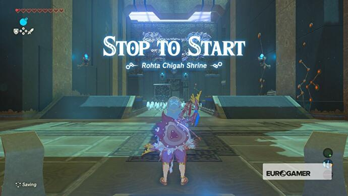 Zelda - Rohta Chigah and Stop To Start solution in Breath of