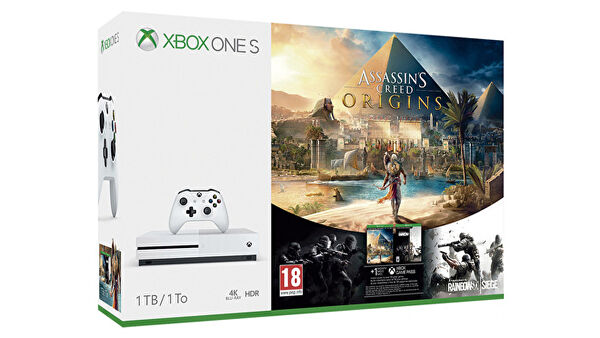 Packs Xbox One S 1TB desde 299€