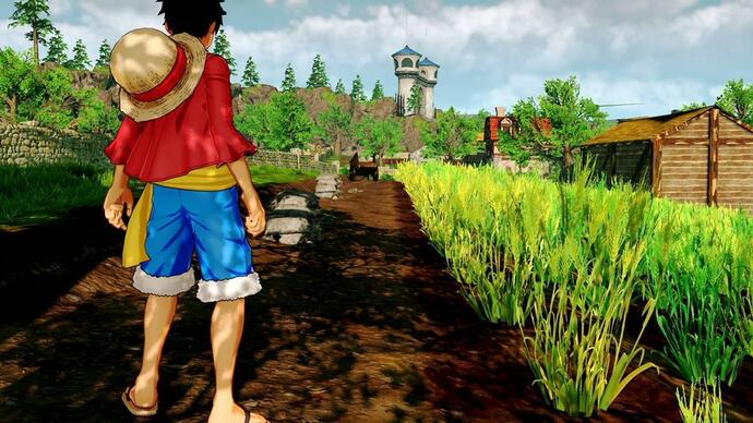 Primeiro gameplay de One Piece World Seeker