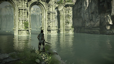 Shadow of the Colossus makes great use of screen-space reflections layered throughout the game with reflections visible far off into the distance.