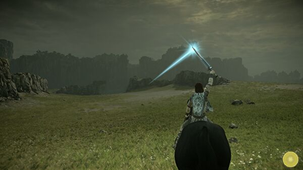 Shadow of the Colossus: колосс 1