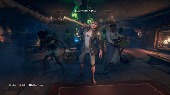 Sea of Thieves' character creator won't be for everyone