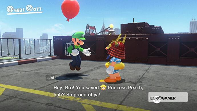 Super Mario Odyssey Balloon World: Tips for earning more coins in