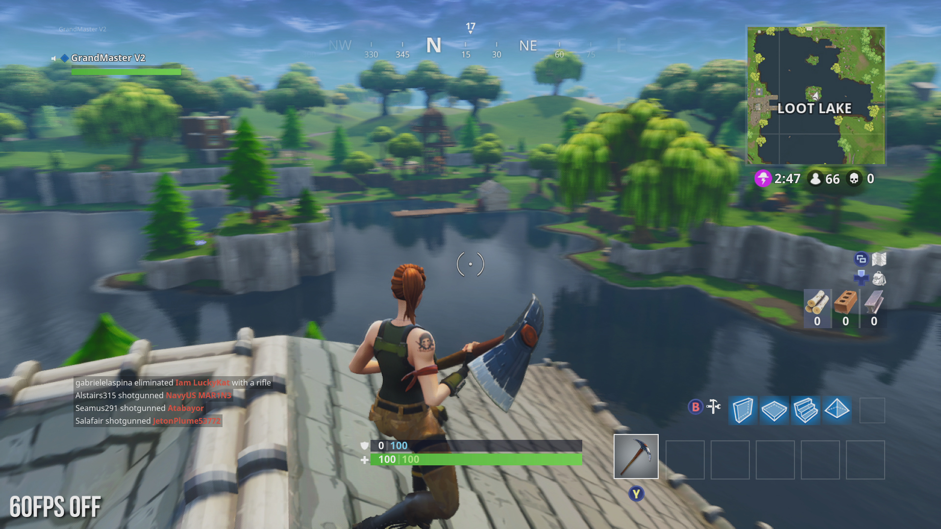 xbox one 60fps on xbox one 60fps off - fortnite ps4 fps
