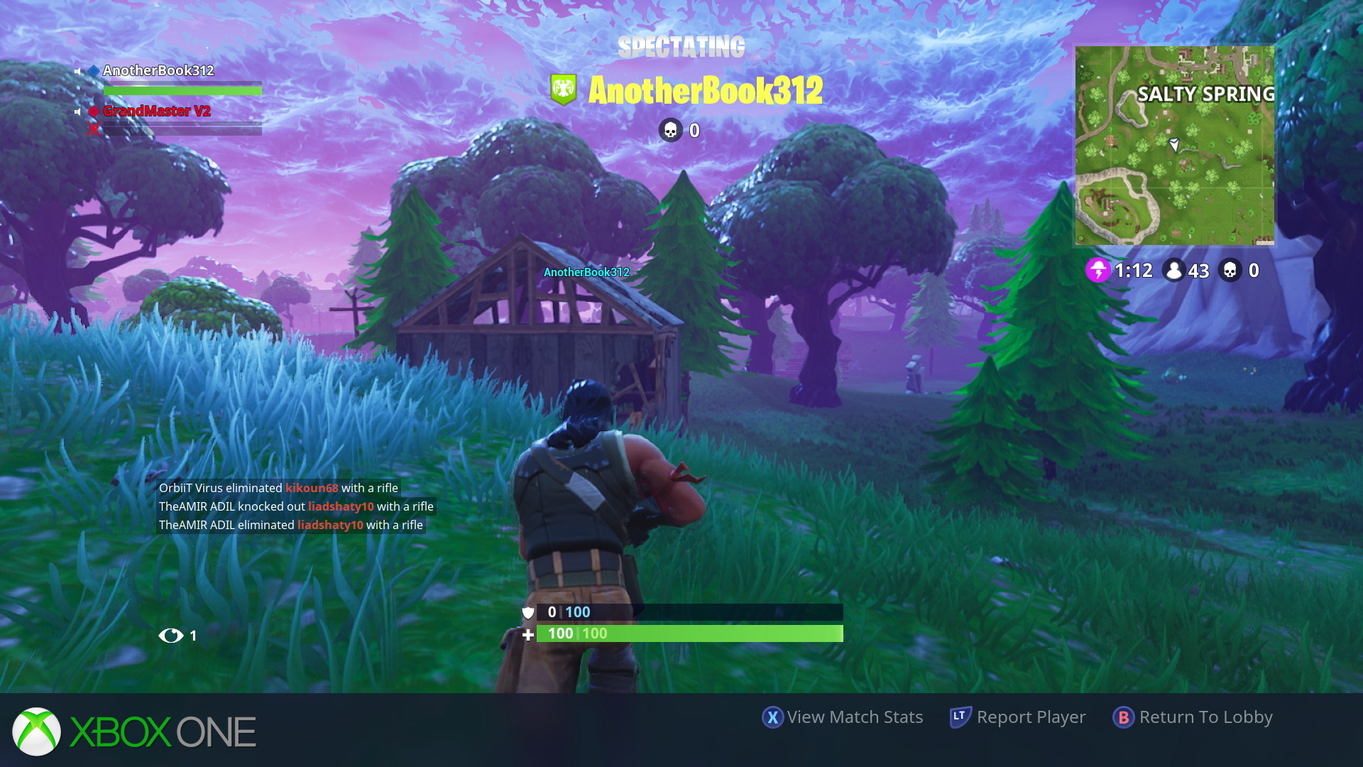 and once again that lighting upgrade on the pro is matched on xbox one x in all of the shots here we ve used spectator mode on one console to mirror the - fortnite bug de texture