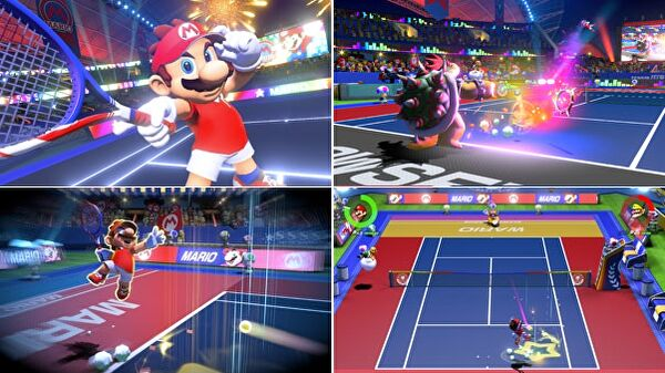 Nintendo serves up Mario Tennis Aces onto Switch, arriving June 22nd
