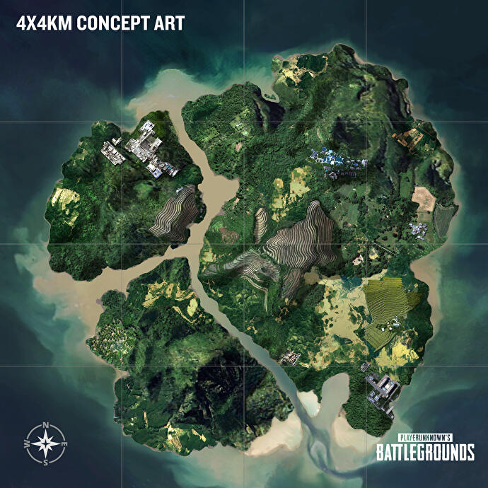 Two new maps headline PlayerUnknown's Battlegrounds' mive ... Game Developer Map on internet map, technology map, photoshop map, us time map, wii map, contact us map,