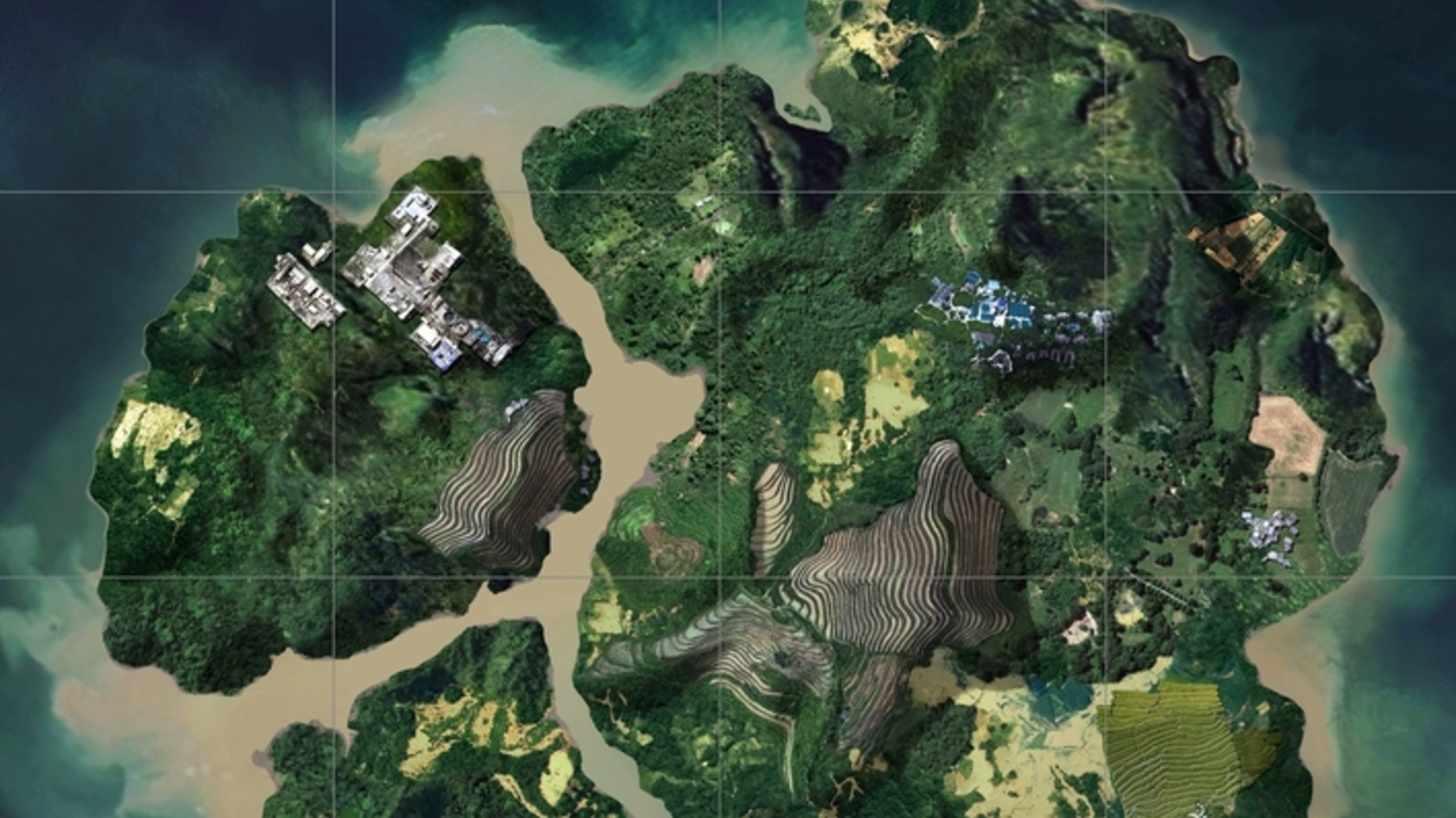 Pubg Sanhok Map Size Best Start Locations Eurogamer Net