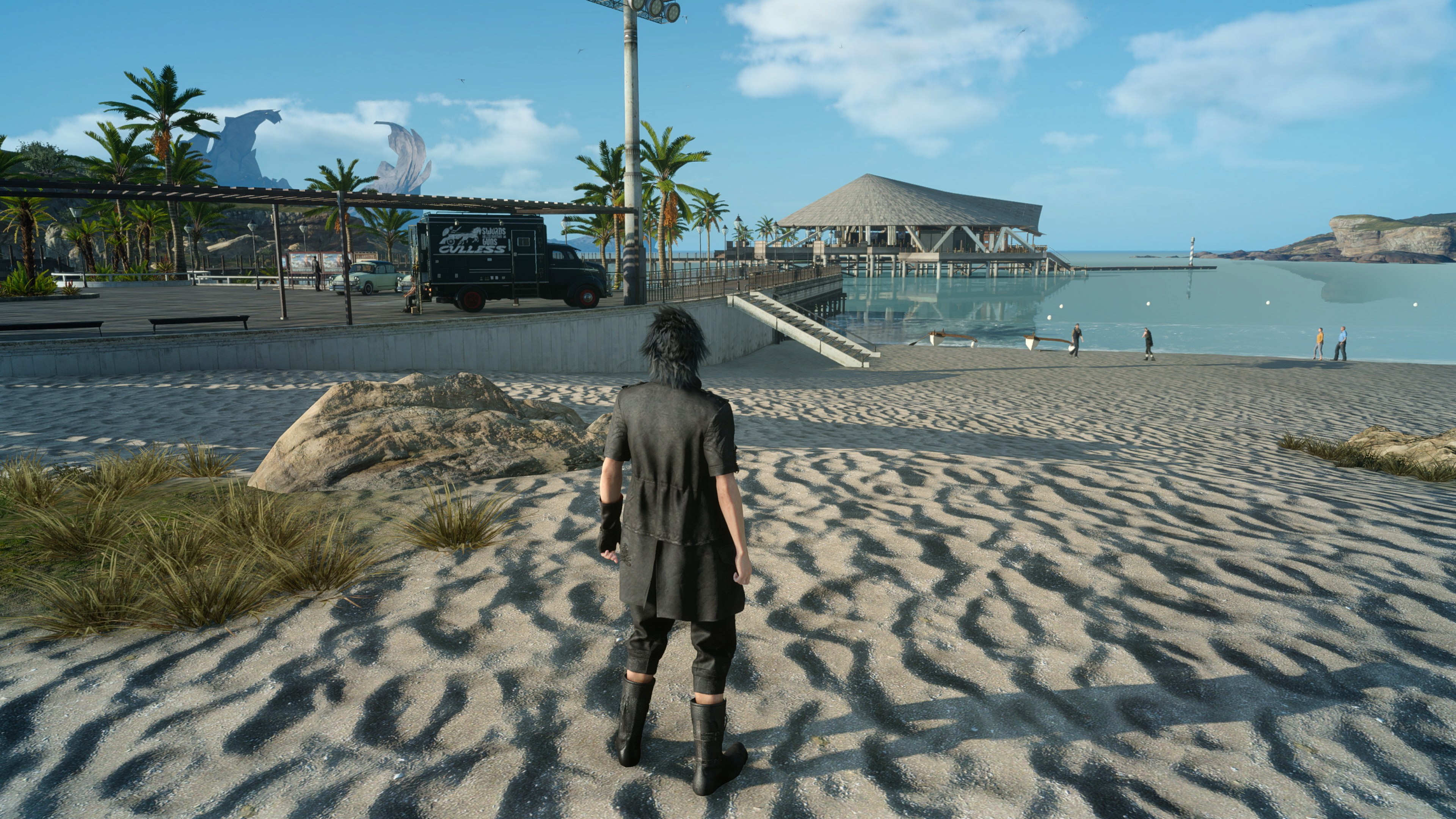 Final Fantasy 15's PC port unlocks the game's full visual potential