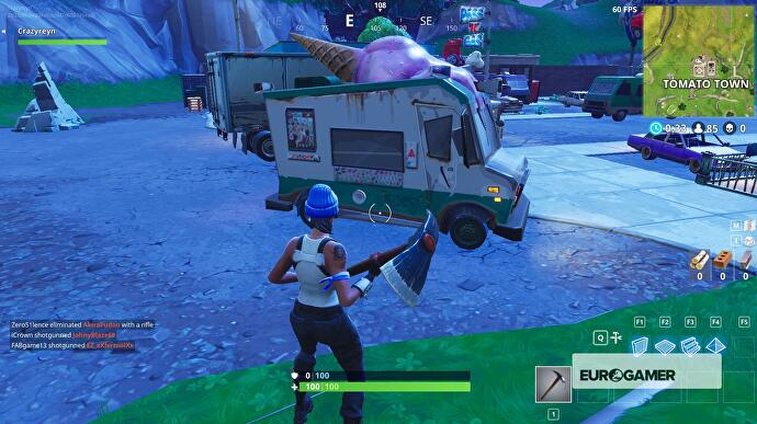 Fortnite Ice Cream Truck Locations Explained Eurogamer Net