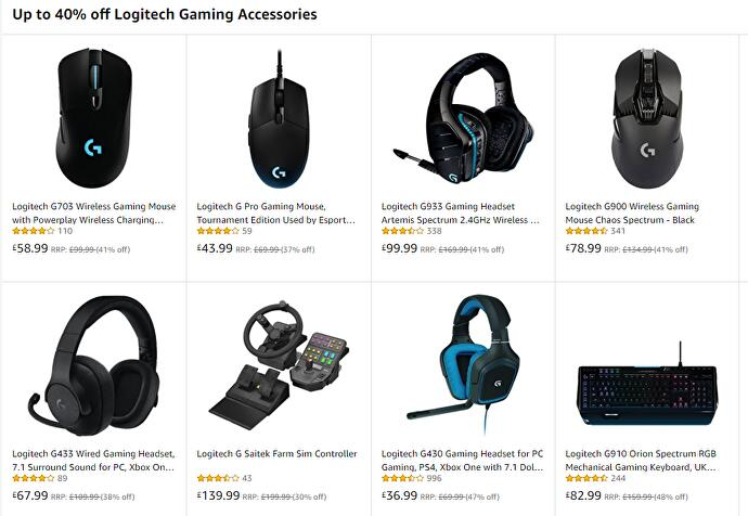 Up to 40% off Logitech accessories today • Eurogamer net