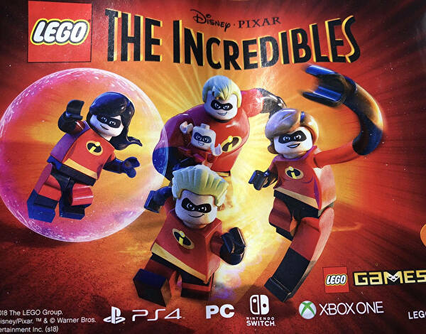 The Incredibles avistado para PC, PS4, Switch e Xbox One — LEGO