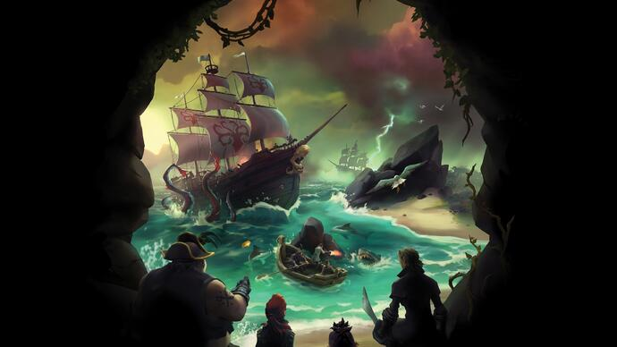 Sea of Thieves recebe trailer live action