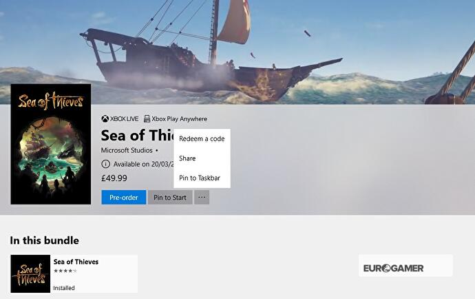 Sea of Thieves installation - unlock times, how to download