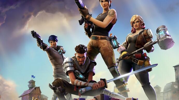 Fortnite: iPhone X takes on Xbox One X
