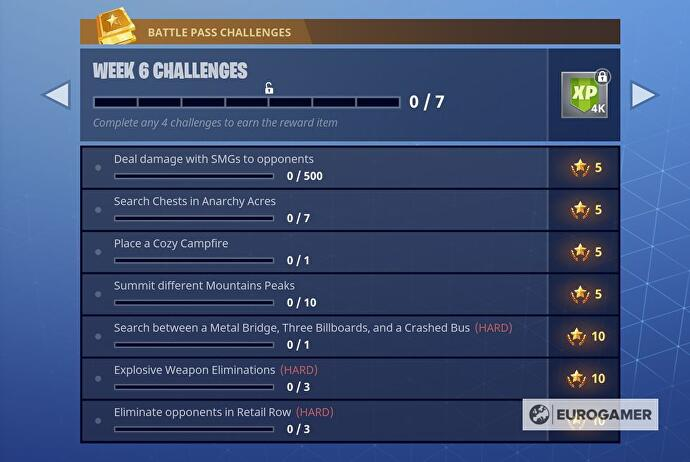 week6challenges - metal bridge three billboards crashed bus fortnite