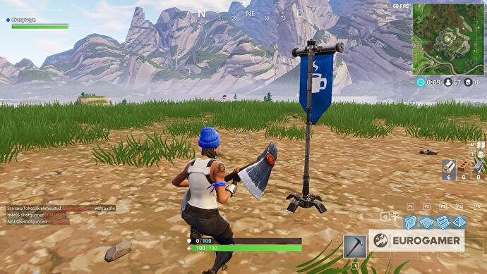 Top 5 highest elevation points fortnite