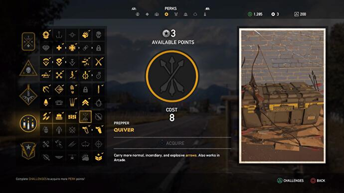 Far Cry 5 Perks: Challenges List, our picks for best Perks
