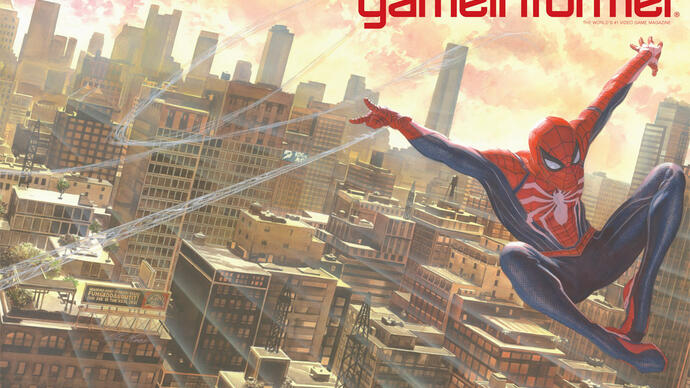 Nova arte e gameplay de Spider-Man