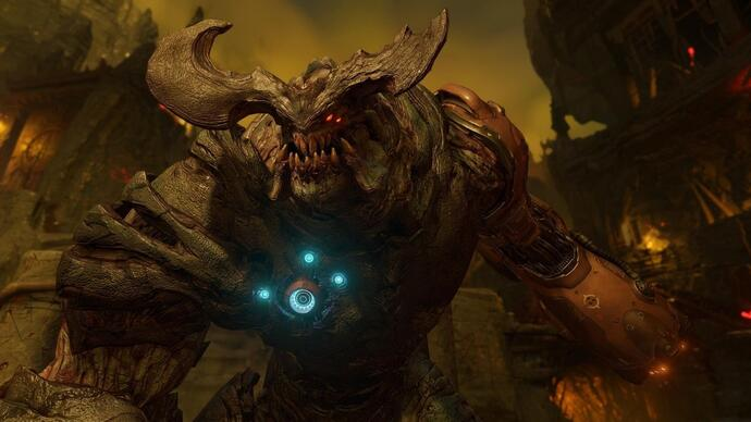 DOOM: un video analizza la patch 4K per PS4 Pro e Xbox One X