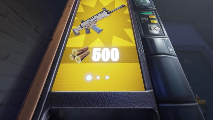 Fortnite's latest update introduces vending machines, easter egg launchers and more
