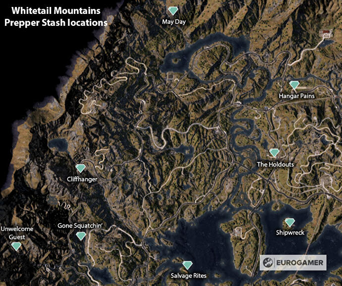 Far Cry 5 Prepper Stash locations: How to find and solve all