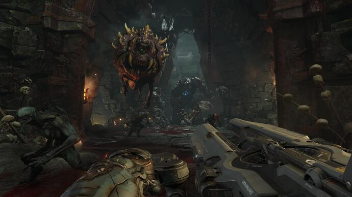Una nuova video analisi esamina la patch 4K di DOOM per PS4 Pro e Xbox One X