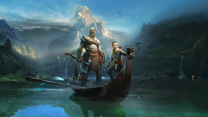 God of War recebe pequeno trailer capturado na PS4 Pro