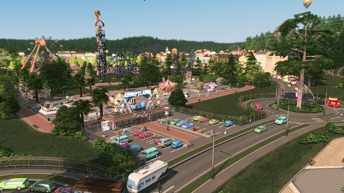 Cities Skylines' next expansion lets you build your own theme parks, zoos, andmore