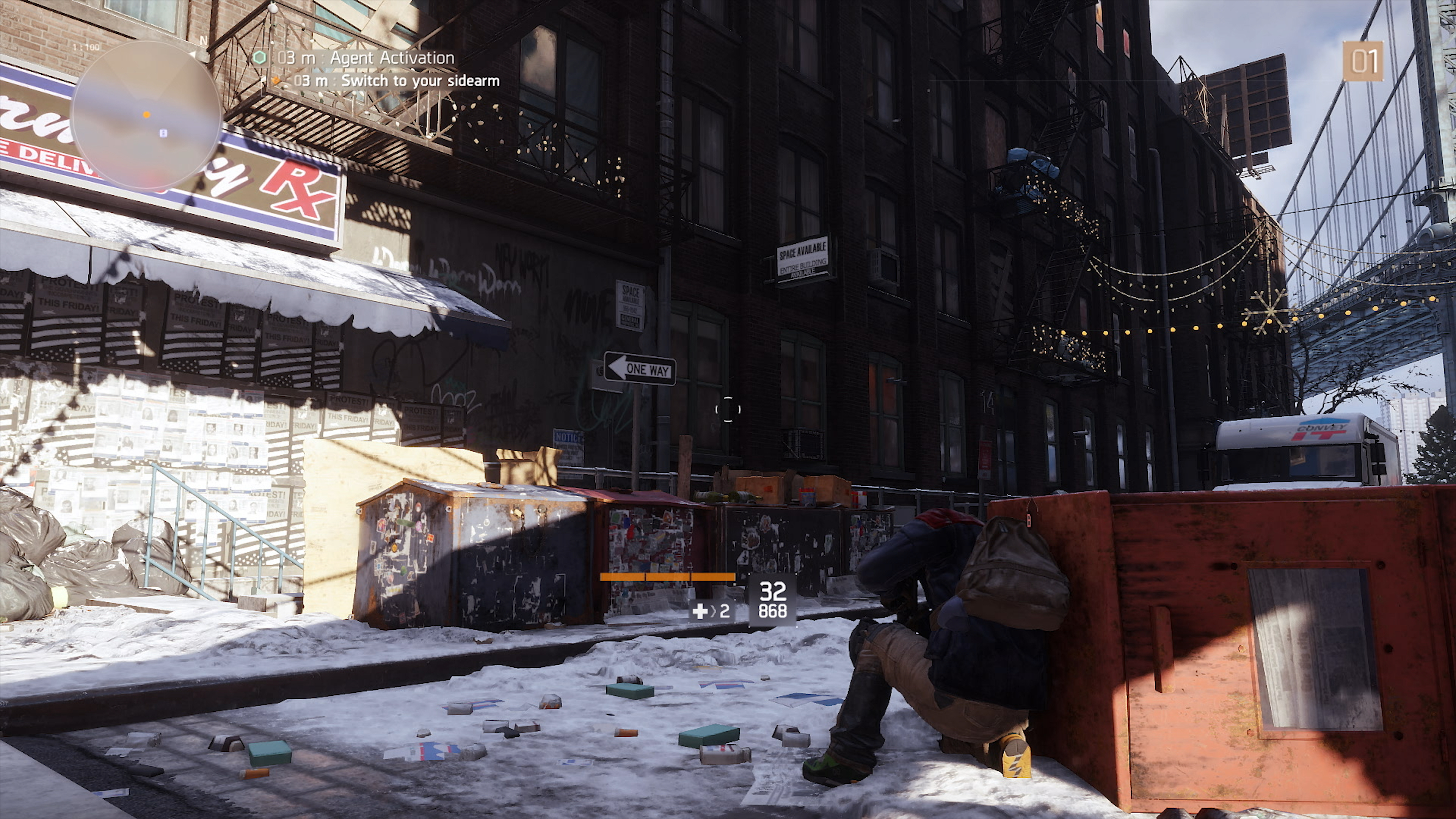 The Division Delivers Another Powerhouse Upgrade For Xbox One X 2 Way Switch Meaning Ps4 Pros Image Is Reconstructed To Give Impression Of A 4k Matching You Get Unique Stair Step Each Pixel