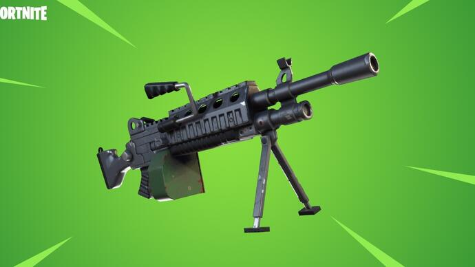 Fortnite v3.5 Content update introduceert Light Machine Gun en nieuwe 50v50 modus