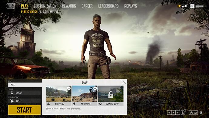 Pubg S Latest Update Brings Map Selection Miramar Improvements