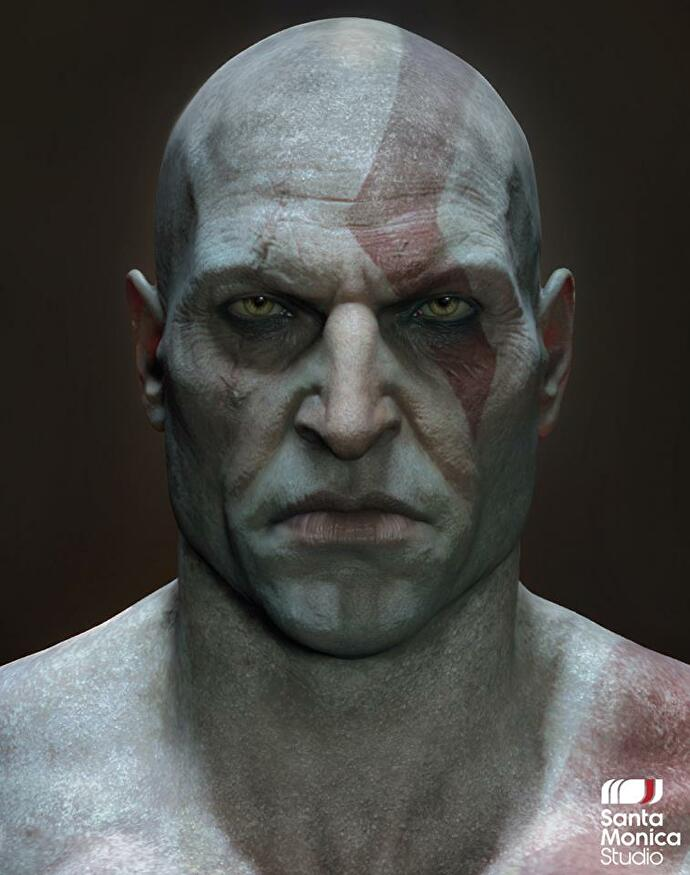 god_of_war_kratos_shaved