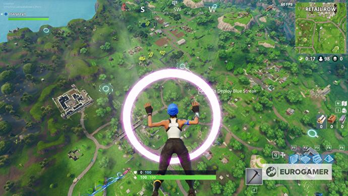 Fortnite_Fliege_durch_schwebende_Ringe_1
