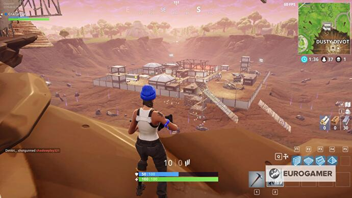 Fortnite Map Changes Dusty Divot Risky Reels And Other Fortnite