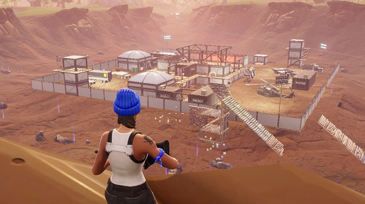Fortnite map changes - Dusty Divot, Risky Reels and other