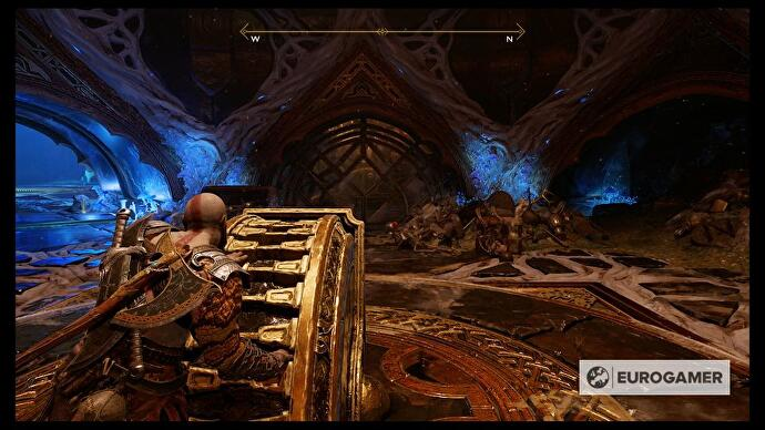 God of War - The Black Rune, Tyr's Vault Water Puzzle solution