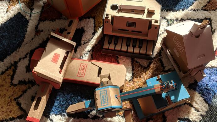 Nintendo Labo review - an ingenious and generous cardboard triumph
