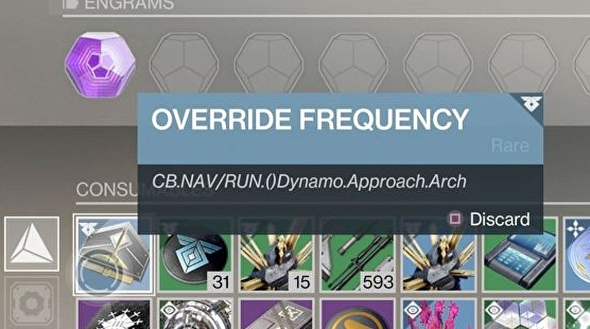 Destiny 2 Override Frequency - How to get Resonate Stems